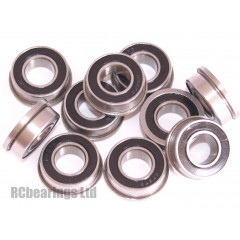 1/4x1/2x3/16 Flanged Bearing (x1) FR188rs