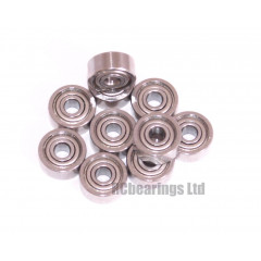 5/64x1/4x9/64 Metal Shielded Bearing (x1) R1-4zz