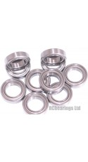0.375 x 0.625 x 0.156 3/8x5/8x5/32 Metal Shielded Bearing (x1) R1038zz