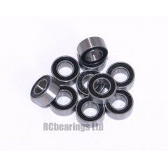 1/8x1/4x7/64 Rubber Shielded Bearing (x1) R144rs