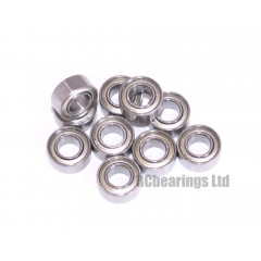 1/8x1/4x7/64 Metal Shielded Bearing (x1) R144zz