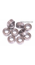 0.156 x 0.313 x 0.125 Metal Shielded Bearing (x1) R155zz