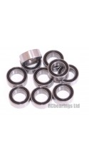 0.188 x 0.313 x 0.125 Rubber Shielded Bearing (x1) R156rs