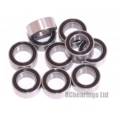 3/16x5/16x1/8 Rubber Shielded Bearing (x1) R156rs