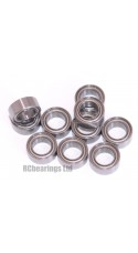 0.188 x 0.313 x 0.125 Metal Shielded Bearing (x1) R156zz
