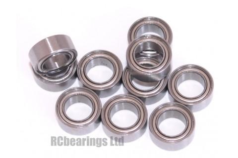0.188 x 0.313 x 0.125 Metal Shielded Bearing (x1) R156zz