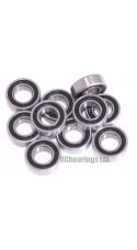 0.188 x 0.375 x 0.125 3/16x3/8x1/8 Rubber Shielded Bearing (x1) R166rs