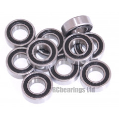 3/16x3/8x1/8 Rubber Shielded Bearing (x1) R166rs