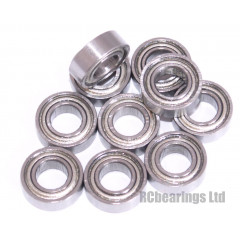 3/16x3/8x1/8 Metal Shielded Bearing (x1) R166zz