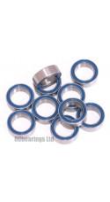 0.250 x 0.375 x 0.125 1/4x3/8x1/8 Rubber Shielded Bearing (x1) R168rs