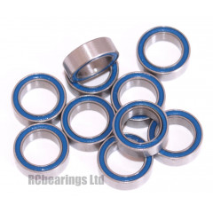 1/4x3/8x1/8 Rubber Shielded Bearing (x1) R168rs