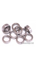 0.250 x 0.375 x 0.125 1/4x3/8x1/8 Metal Shielded Bearing (x1) R168zz