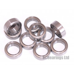 1/4x3/8x1/8 Metal Shielded Bearing (x1) R168zz