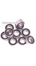 0.250 x 0.500 x 0.188 1/4x1/2x3/16 Rubber Shielded Bearing (x1) R188rs