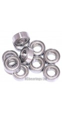 0.250 x 0.500 x 0.188 1/4x1/2x3/16 Metal Shielded Bearing (x1) R188zz