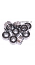 0.125 x 0.313 1/8x5/16x9/64 Rubber Shielded Bearing (x1) R2-5rs