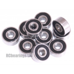 1/8x3/8x5/32 Rubber Shielded Bearing (x1) R22rs