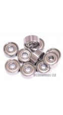 0.125 x 0.375 x 0.156 Metal Shielded Bearing (x1) R2zz