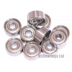 1/8x3/8x5/32 Metal Shielded Bearing (x1) R2zz