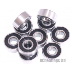 3x16x1/2x0.196 Rubber Shielded Bearing (x1) R3rs