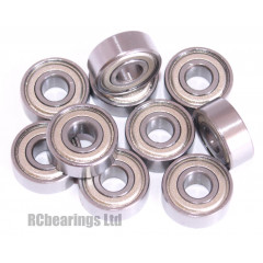 3/16x1/2x0.196 Metal Shielded Bearing (x1) R3zz