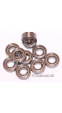 5x11x4 (Stainless Steel) Bearing (x1) MR115zz