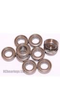 6x12x4 (Stainless Steel) Bearing (x1) SMR126zz