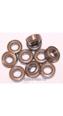 7x14x5 (Stainless Steel) Bearing (x1) S687zz