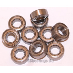 7x14x5 (Stainless Steel) Bearing (x1) S687zz