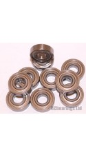 7x17x5 (Stainless Steel) Bearing (x1) S697zz
