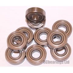 7x17x5 (Stainless Steel) Bearing (x1) S697zz