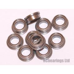 3/16x5/16x1/8 (Stainless Steel) Flanged Bearing (x1) SFR156zz