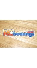 RCbearings.co.uk Decal Large 100x28mm