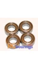 Mardave Front Wheel bearings 4x8mm x4  - RCbearings