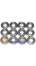 Tamiya 58252 Blitzer Beetle Chrome FULL Bearing Kit