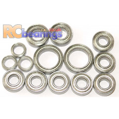 Tamiya 58127 Castrol Civic FF01 FULL Bearing Kit - RCbearings